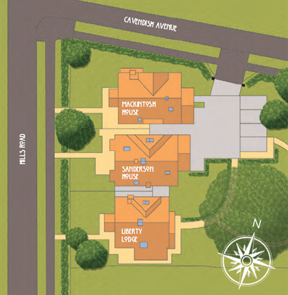 Site plans of houses home design and style Home site plan