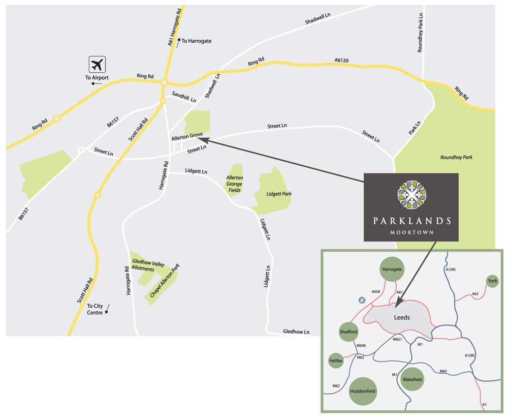 Location Parklands Homes
