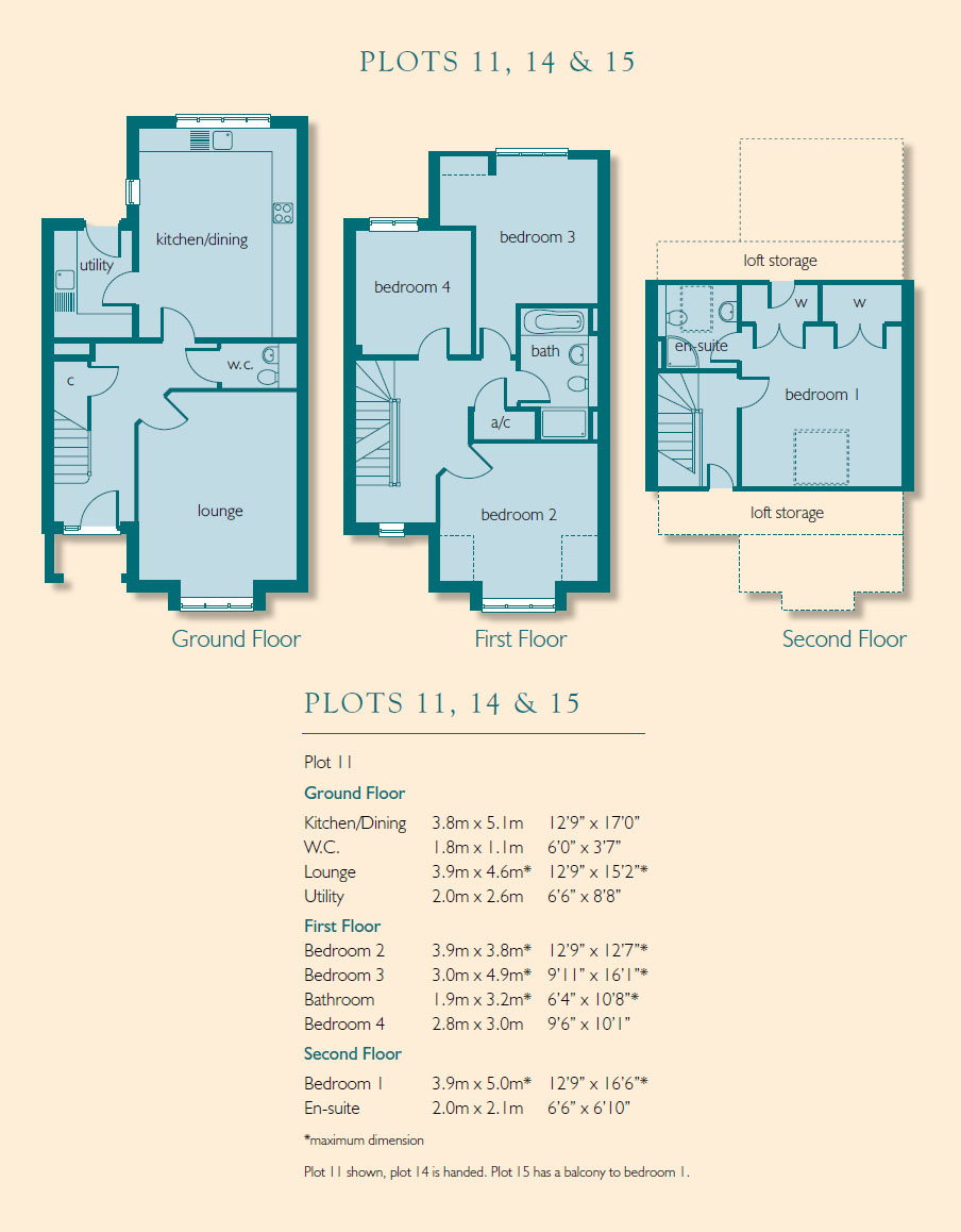 Steeple court brampton new homes house types steeple for 11 brunel crt floor plan