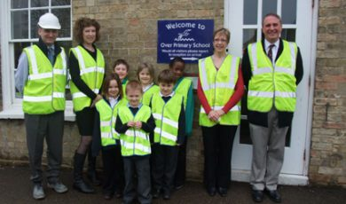 Over Pupils Take Lessons In Construction